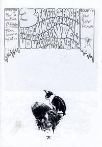 Cover Thumbnail for 3 triste sanger av den unge Herr Holm om å være foruten, udugelig og alene (Kim Holm (eget forlag), 2010 series)