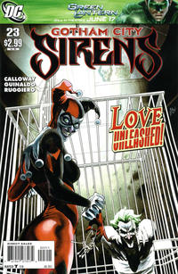 Cover Thumbnail for Gotham City Sirens (DC, 2009 series) #23