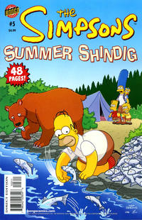 Cover Thumbnail for The Simpsons Summer Shindig (Bongo, 2007 series) #5