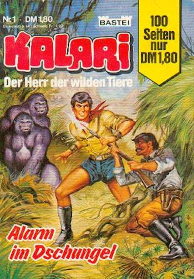 Cover for Kalari (Bastei Verlag, 1982 series) #1
