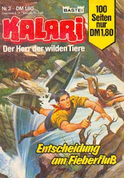 Cover for Kalari (Bastei Verlag, 1982 series) #2