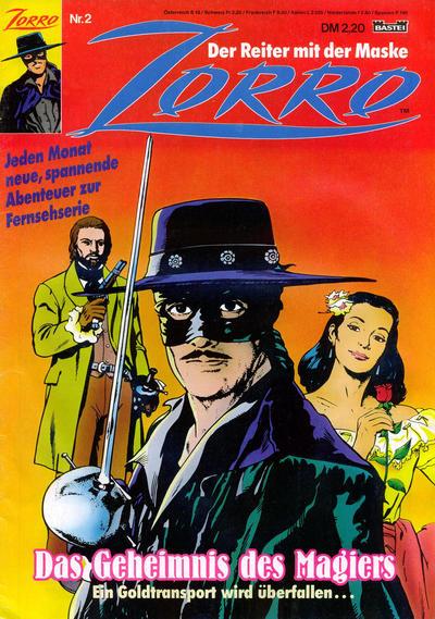 Cover for Zorro (Bastei Verlag, 1991 series) #2