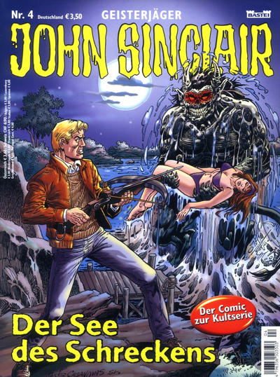 Cover for Geisterjäger John Sinclair (Bastei Verlag, 2004 series) #4