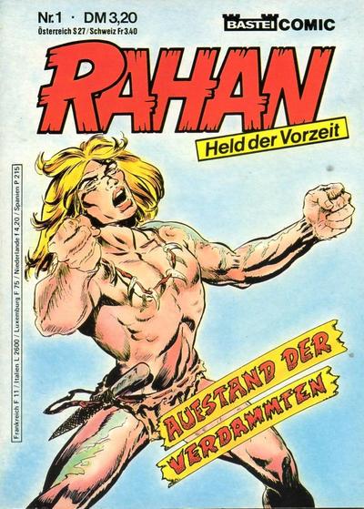 Cover for Rahan (Bastei Verlag, 1984 series) #1