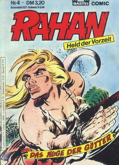 Cover for Rahan (Bastei Verlag, 1984 series) #4