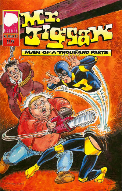 Cover for Mr. Jigsaw (Redbud Studio, 2009 series) #2