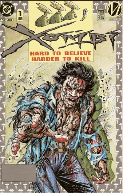 Cover for Xombi (DC, 1994 series) #1 [Premium Edition]