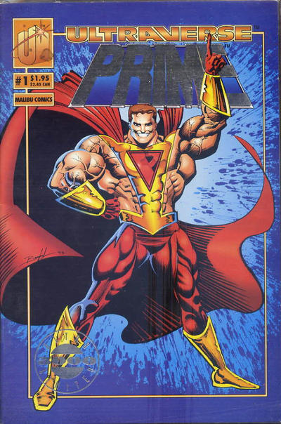 Cover for Prime (Malibu, 1993 series) #1 [Direct]