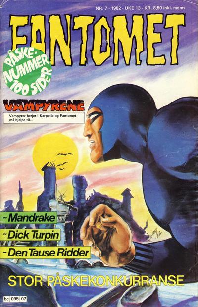 Cover for Fantomet (Semic, 1976 series) #7/1982