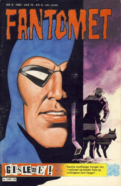 Cover for Fantomet (Semic, 1976 series) #8/1982