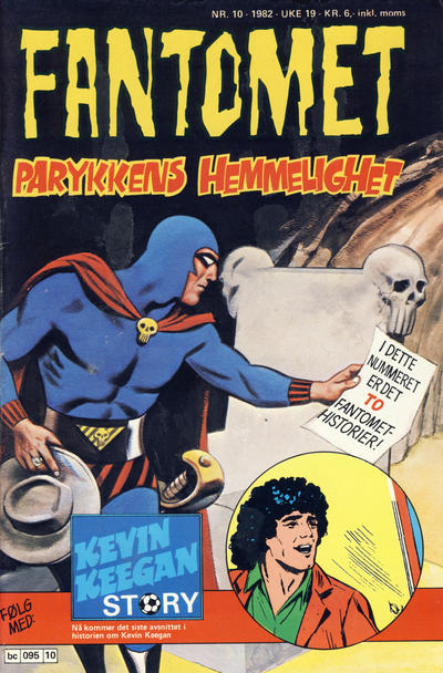 Cover for Fantomet (Semic, 1976 series) #10/1982
