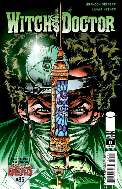 Cover for The Walking Dead (Image, 2003 series) #85 [Lukas Ketner Cover]