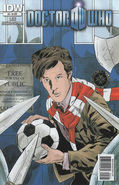 Cover for Doctor Who (IDW, 2011 series) #5 [Cover RI]