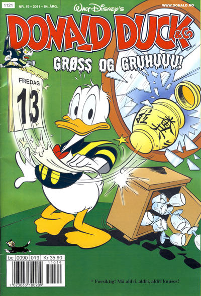 Cover for Donald Duck & Co (Hjemmet / Egmont, 1948 series) #19/2011
