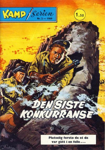 Cover for Kamp-serien (Serieforlaget / Se-Bladene / Stabenfeldt, 1964 series) #2/1969