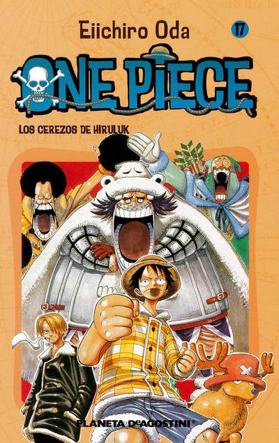 Cover for One Piece (Planeta DeAgostini, 2003 series) #17