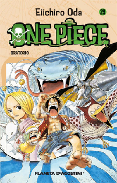 Cover for One Piece (Planeta DeAgostini, 2003 series) #29