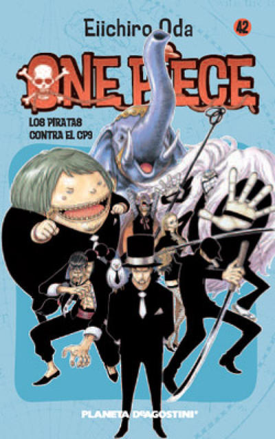Cover for One Piece (Planeta DeAgostini, 2003 series) #42