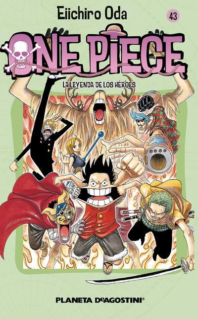Cover for One Piece (Planeta DeAgostini, 2003 series) #43