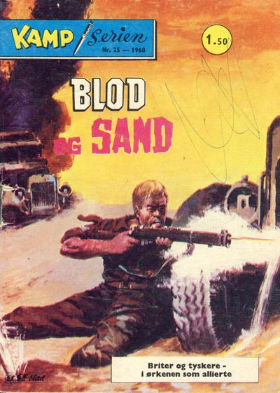 Cover for Kamp-serien (Serieforlaget / Se-Bladene / Stabenfeldt, 1964 series) #25/1968