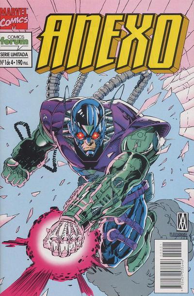 Cover for Anexo (Planeta DeAgostini, 1995 series) #1