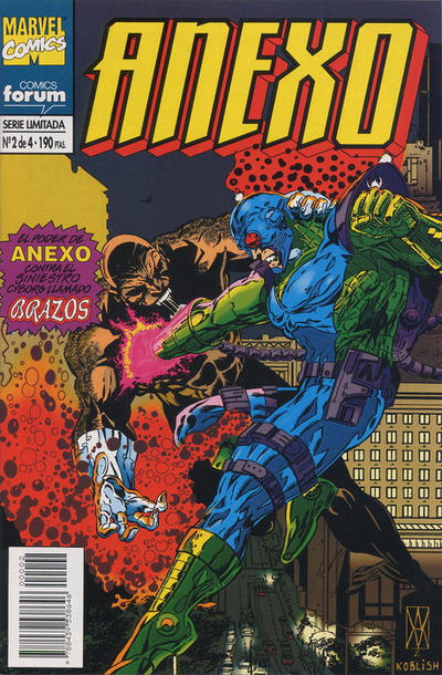 Cover for Anexo (Planeta DeAgostini, 1995 series) #2