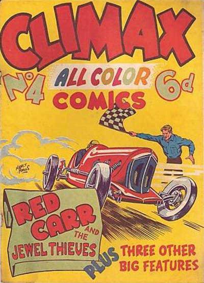 Cover for Climax Color Comic (K. G. Murray, 1947 series) #4