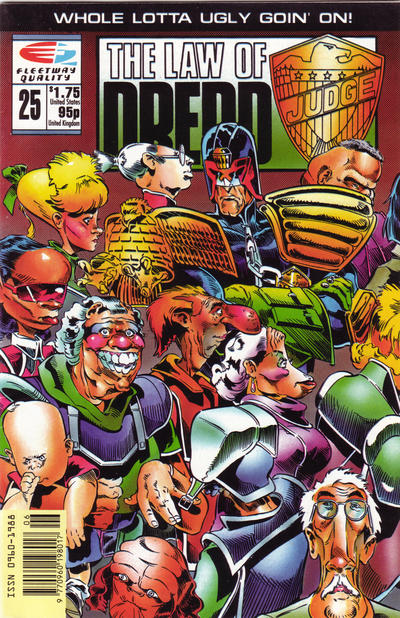 Cover for The Law of Dredd (Fleetway/Quality, 1988 series) #25