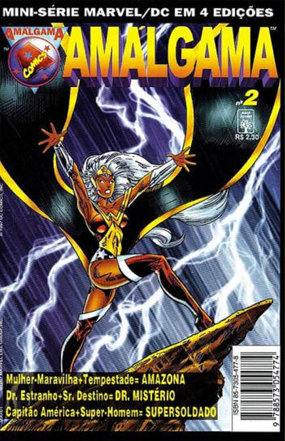 Cover for Amálgama (Editora Abril, 1997 series) #2