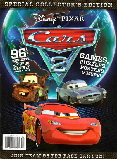 Cover for Cars 2 Official Movie Special (Disney, 2011 series)