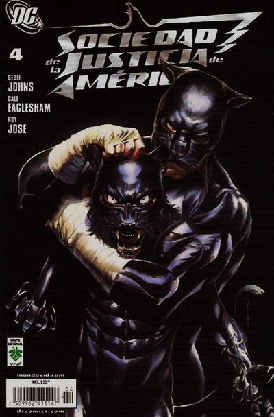 Cover for Sociedad de la Justicia de América (Grupo Editorial Vid, 2008 series) #4