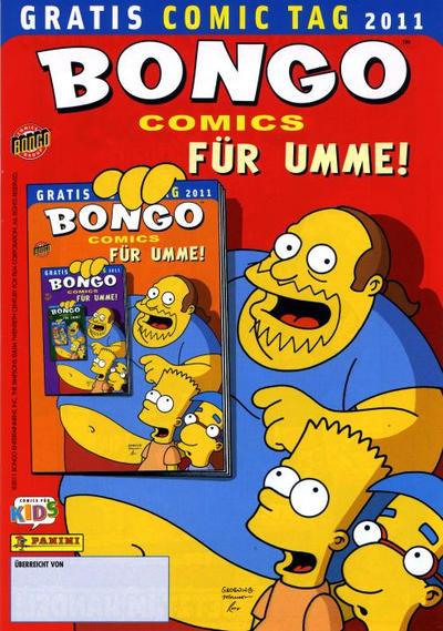 Cover for Bongo Comics für umme (Panini Deutschland, 2010 series) #2011