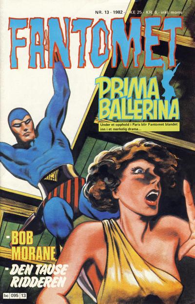 Cover for Fantomet (Semic, 1976 series) #13/1982