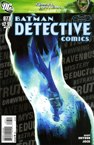 Cover for Detective Comics (DC, 1937 series) #877
