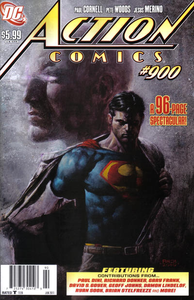 Cover for Action Comics (DC, 1938 series) #900 [Newsstand]