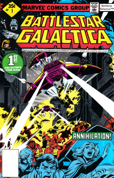 Cover for Battlestar Galactica (Marvel, 1979 series) #1 [Regular Edition]