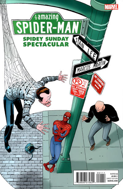 Cover for Spidey Sunday Spectacular! (Marvel, 2011 series) #1 [Newsstand]