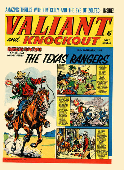 Cover for Valiant and Knockout (IPC, 1963 series) #18 January 1964