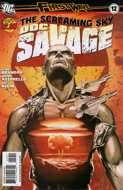 Cover for Doc Savage (DC, 2010 series) #12
