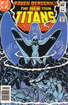 Cover Thumbnail for The New Teen Titans (1980 series) #31 [Newsstand]
