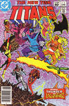 Cover Thumbnail for The New Teen Titans (1980 series) #32 [Newsstand]