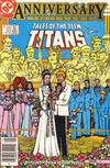 Cover for Tales of the Teen Titans (DC, 1984 series) #50 [Newsstand]