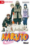 Cover for Naruto (Ediciones Glénat, 2002 series) #34