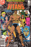 Cover for Tales of the Teen Titans (DC, 1984 series) #57 [Newsstand]