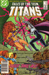 Cover for Tales of the Teen Titans (DC, 1984 series) #83 [Newsstand]
