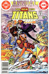Cover Thumbnail for The New Teen Titans Annual (1982 series) #1 [Newsstand]