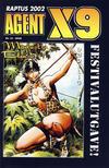Cover for Agent X9 Raptus 2002 festivalutgave (Hjemmet / Egmont, 2002 series) #10/2002