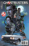 Cover for Ghostbusters: Displaced Aggression (IDW, 2009 series) #4 [Cover B]