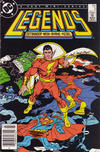 Cover for Legends (DC, 1986 series) #5 [Newsstand]