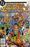 Cover for Legends (DC, 1986 series) #2 [Newsstand]